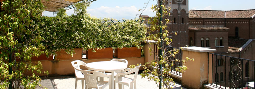double rooms with terrace Rome hotel